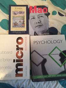 Selling various textbooks