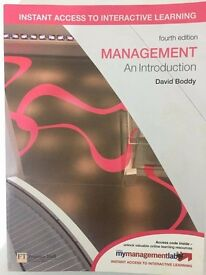 Management: An Introduction (4th Edition) - David Boddy
