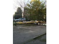 Trailer-Car Transporter-Brand New Axle-Brand New Wheels-GUARANTEED