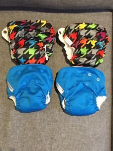EUC Newborn Cloth Diapers