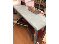 Lovely Painted Console Table