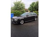 Audi A4 estate sline