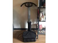 Power Vibration Plate + Free Yoga mat and 25 min workout DVD