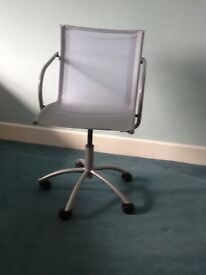 Swivel Grey office style chair -Sutton