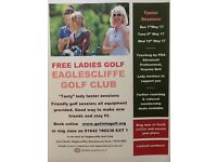 Free Golf Taster sessions for ladies