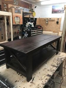 Farm house coffee tables and other home furniture