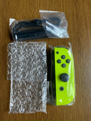 Joy-Con Nintendo Switch Controllers (Right) - Neon Yellow 👉Ship Now Play NOW!👉
