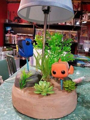 Custom Disney Finding Nemo Dory Diorama Lamp Action Figure