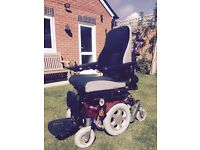 Quickie Salsa M electric wheelchair, full working order, excellent condition