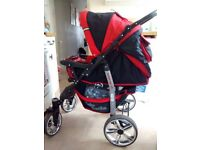 3 in 1 buggy/travel system