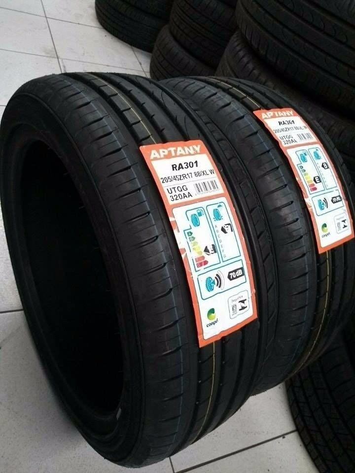 4 x Aptany RA301 205/45R17 88W XL tyres free fitting or postage!