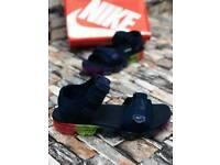 Black Nike vapor slide