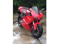 Ducati 1098 2008 swap speed triple