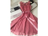Short, deep pink dress size 12