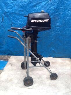 Mercury 4HP 4 Stroke outboard. Kogarah Bay Kogarah Area Preview