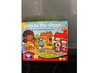 Pop to the shops - orchard toys game