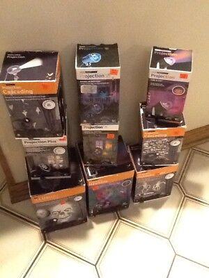 Halloween Lightshow (Halloween Buy 2!! Gemmy LED LightShow Projection Assorted Choose (1) of 7)