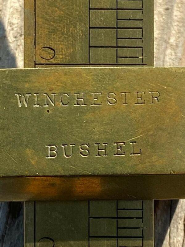 Fairbanks Winchester Bushel Scale in Box