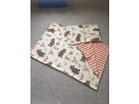 Gruffalo cotbed bedding