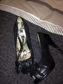 Next black heels size 8