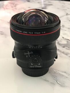 Canon 17mm TS f4L Lens