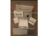 Mac Mini i5, 8GB immaculate boxed apple wireless keyboard and trackpad.