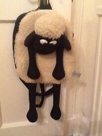 Shaun the Sheep bag.