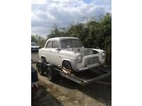 1959 ford 100e project great looking classic getting hard to solid shells loads of bits with it