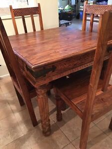 Dining Table with 4 Chairs St Clair Penrith Area Preview