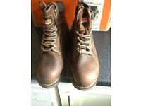 Scuffs work Boots