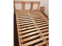 Ikea Sultan Double bed 140x200 cm (European size) with luxury cool memory foam mattress