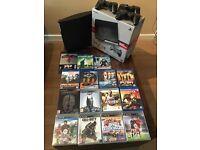 PlayStation 3 -320gb 3 controllers, 7 games & 8 Blu-rays