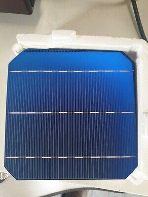 100pcs Monocrystalline Solar Cell Silicon 4.7W 0.5V Effciency Grade 156x156MM