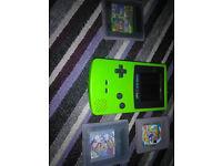 nintendo gameboy colour or pocket both with mario 2