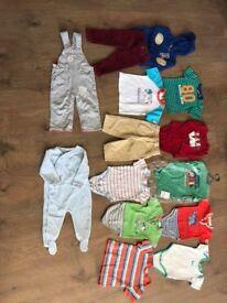 Baby clothes bundle 6-12 months