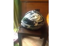 DUCHINNI MOTORCYCLE HELMET LARGE
