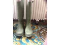 Size8mens hunter wellingtons