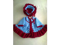 New Hand Knitted Baby Sets - Newborn Size