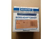 Mountney steering wheel boss adaptor kit