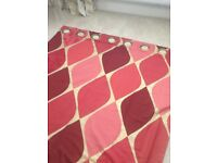 Pair of quality made to measure curtains