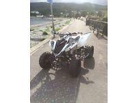 Yamaha raptor 700r road legal quad swap px etc