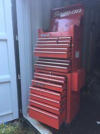Snap on 3 tier tool box