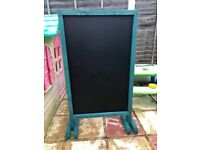 Outdoor chalk board