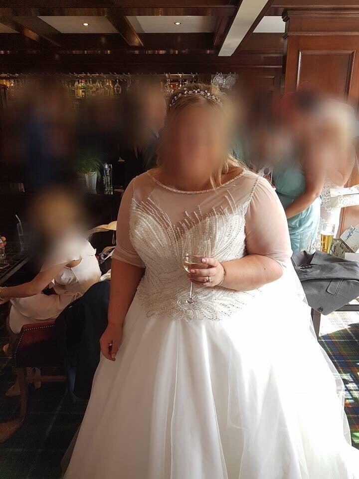 Plus Size Wedding Dress Size 24 26 In Giffnock Glasgow Gumtree