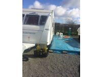 **FOR SALE TOURING 5 BERTH FLEETWOOD SONATA CARAVAN W/ PITCH FEES PAID UNTIL JULY 2018!!!**