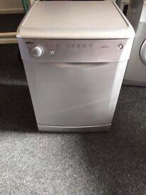 Silver dishwasher can deliver