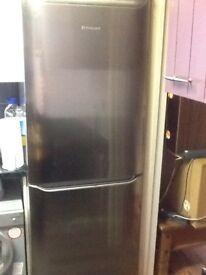 Free Silver hot point fridge freezer
