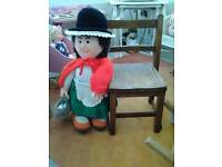 Welsh knitted doll new.