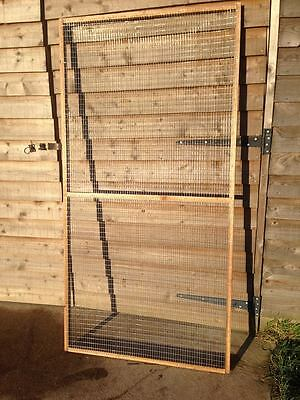 19 x Aviary Panel 6x3 + 1 x Door Outdoor Run 19G Chicken Rabbits Puppy Bird Pet
