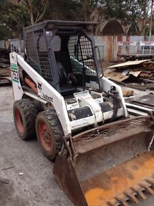 Bob cat 753 with bucket Dural Hornsby Area Preview